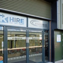 Kingsbridge Hire Showroom