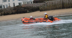 Salcombe RNLI called to medical emergency