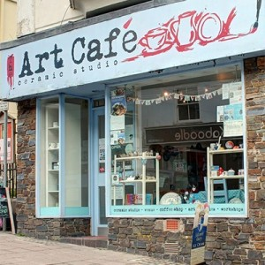 The Art Cafe Ceramic Studio Kingsbridge