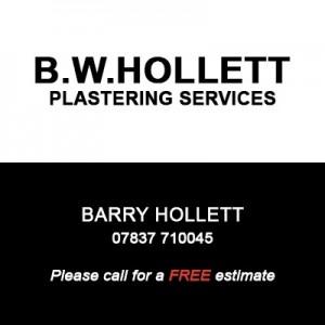 B W Hollett Plastering Services