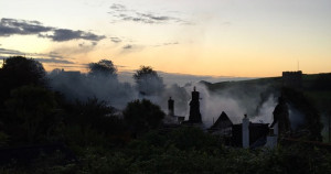 Neighbours roused sleeping residents as Stokenham fire took hold of the pub