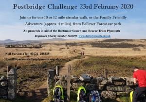 Postbridge Challenge