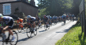 Tour of Britain flies through the South Hams on its second leg