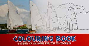Salcombe Colouring book