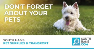 Local South Hams Pet Supplies and Transport