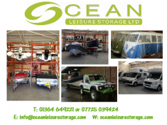 Ocean Leisure Storage Indoor Storage for Caravans, Motorhomes, Boats and Cars