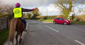 Traffic incidents involving horses can be prosecuted using Operation Snap