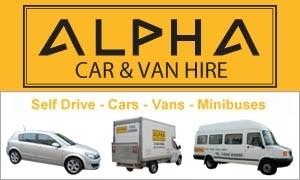 Alpha Car and Van Hire - Kingsbridge