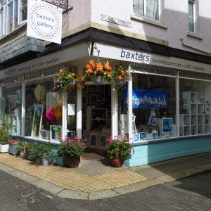 Baxters Gallery Shop in Dartmouth, South Devon