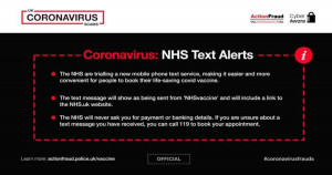 Police warn against Covid vaccine scams as rollout continues