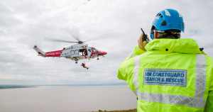 Fisherman rescued after falling overboard thanks to personal locator beacon