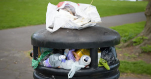 "South Hams residents and visitors are being urged to ""find a bin or take it home"""