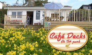 Cafe Decks At The Park Kingsbridge Recreation Ground