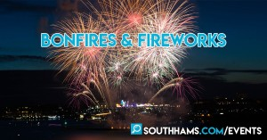 Bonfire Nights and Fireworks across the South Hams