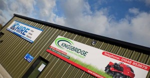 Kingsbridge Hire Centre at Torr Trade Park near Kingsbridge
