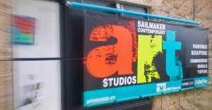 Sailmaker Contemporary Art Studios in Salcombe