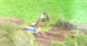 Work continues at Lock's Hill, despite stop notice