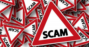 Beware of scam delivery text messages