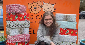 Jess is filling shoeboxes for dog charities this winter - can you help?