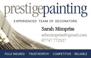 Prestige Painting & Decorating Female Decorating Team