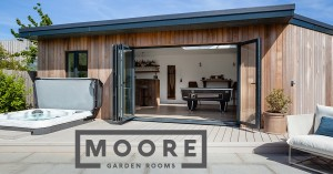 Create your space with Moore Garden Rooms