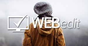 Webedit drag and drop website builder