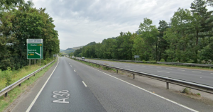 Police are appealing for witnesses after a crash on the A38