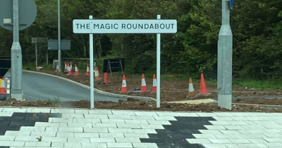 'Magic Roundabout' causes drama in Dartmouth, but the characters may made a comeback